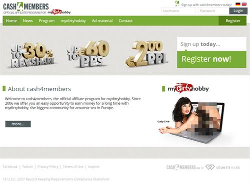 Cash4Members - a High-Paying Affiliate Program